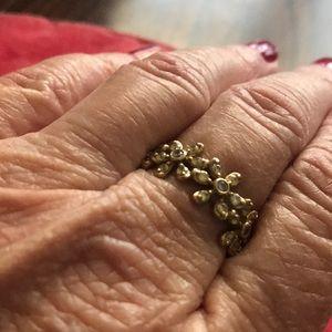 Diamonique Daisey Ring